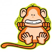 Flossing Monkey Wall Cling