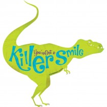 Killer Smile Dinosaur Wall Cling