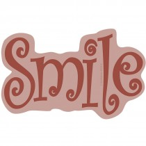 Red Smile Wall Cling