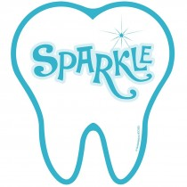 Sparkle Tooth Wall Cling