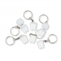 Tooth Holder Backpack Keychains