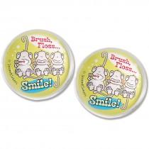 32mm Brush, Floss, Smile Monkey Bouncing Balls