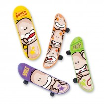 Brush Floss Smile Monkey Skateboards