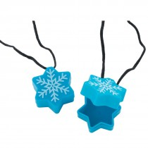 Snowflake Tooth Holder Necklaces