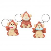 Brush, Floss, Smile Monkey Backpack Pulls