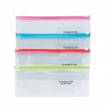 Custom Assorted Dental Zipper Pouches