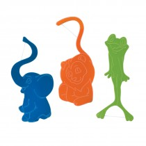 SmileCare Jungle Friends Flosser 4-Packs