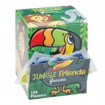 SmileCare Jungle Friends Flosser Single Packs