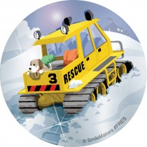 Foil Rescue Vehicles Stickers