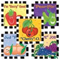 Fruit Faces Scratch 'n Sniff Stickers