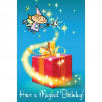 Magical Birthday Dental Greeting Cards