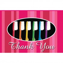 Thank You Toothbrush Greeting Cards