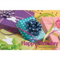 Dental Birthday Presents Greeting Cards