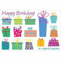 Birthday Presents Greeting Cards