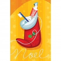 Dental Noel Stocking Greeting Cards