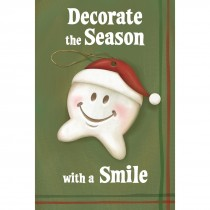 Happy Tooth Ornament Greeting Cards