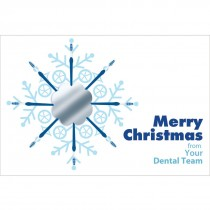 Merry Christmas Dental Team Greeting Cards