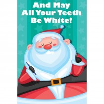 Santa's White Teeth Greeting Cards