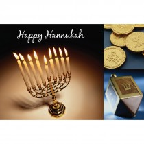 Happy Hanukkah Greeting Cards