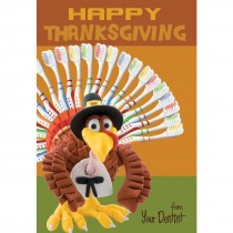 Thanksgiving Toothbrushes Greeting Cards