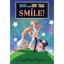 Bring New Year Smile Greeting Cards
