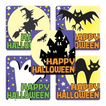 Glow in the Dark Halloween Stickers