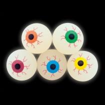 32mm Glow in the Dark Eyeball Bouncing Balls