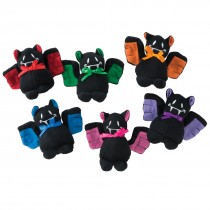 Plush Bean Bag Bats