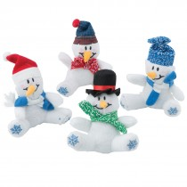 Plush Bean Bag Snowmen
