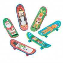Christmas Finger Skateboards