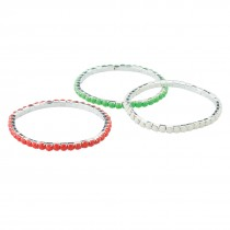 Christmas Tennis Bracelets