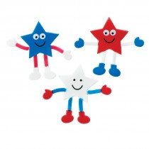 Patriotic Star Bendable Characters