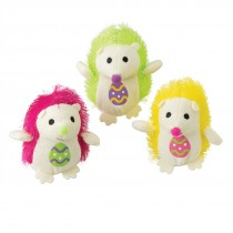 Plush Easter Hedgehogs