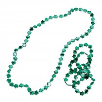 Shiny Shamrock Necklaces