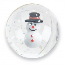 32mm Happy Snowman Bouncing Balls