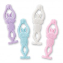 Stretchy Flying Easter Bunnies