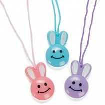 Happy Bunny Necklaces