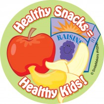 Healthy Snacks Stickers