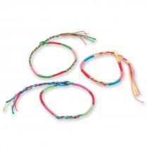 Neon Braided Friendship Bracelets