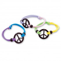 Peace Sign Friendship Bracelets