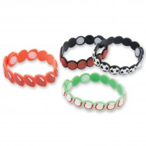 Sportsball Button Bracelets