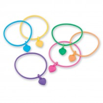 Heart Charm Jelly Bracelets