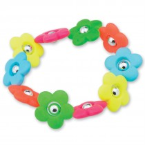 Flower Power Bead Bracelets