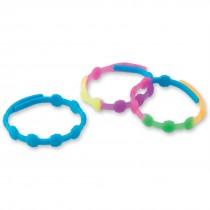 Rubber Flower Bracelets