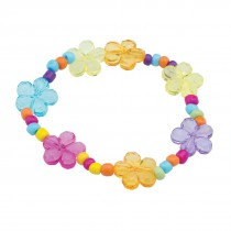 Stretchy Flower Gem Bracelets