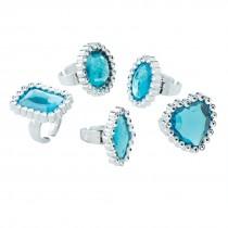Snow Princess Jewel Rings
