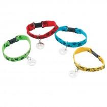 Paw Print Dog Collar Bracelets
