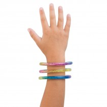 Rainbow Liquid Glitter Bracelets