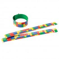 Building Block Slap Bracelets