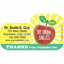 Shaped Grow Smiles Magnets